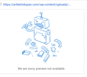 Fix URL yang dikirimkan tidak ditemukan (404) 1