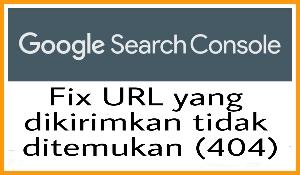 Fix URL yang dikirimkan tidak ditemukan (404)