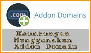 keuntungan menggunakan unlimited addon domain