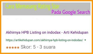 "Cara Memasang Rating Star Pada Google Search<span class=""rating-result after_title mr-filter rating-result-1370"" >	<span class=""mr-star-rating"">			    <i class=""fa fa-star mr-star-full""></i>	    	    <i class=""fa fa-star mr-star-full""></i>	    	    <i class=""fa fa-star mr-star-full""></i>	    	    <i class=""fa fa-star mr-star-full""></i>	    	    <i class=""fa fa-star mr-star-full""></i>	    </span><span class=""star-result"">	5/5</span>			<span class=""count"">				(1)			</span>			</span>"
